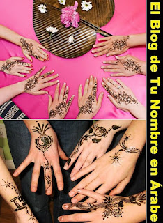 Tatuar henna en las manos