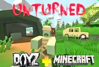 unturned jogo parecido com minecraft