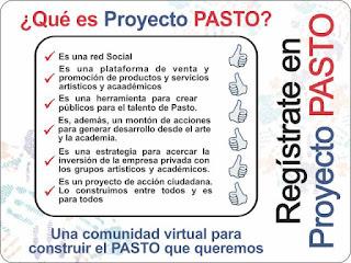 Proyecto pasto, una comunidad virtual para generar una ciudad real