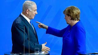Merkel a Netanyahu: Alemania secunda el acuerdo nuclear de Irán