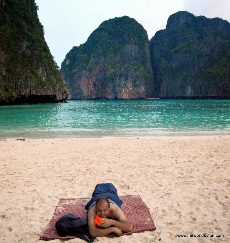 como dormir na Maya Bay