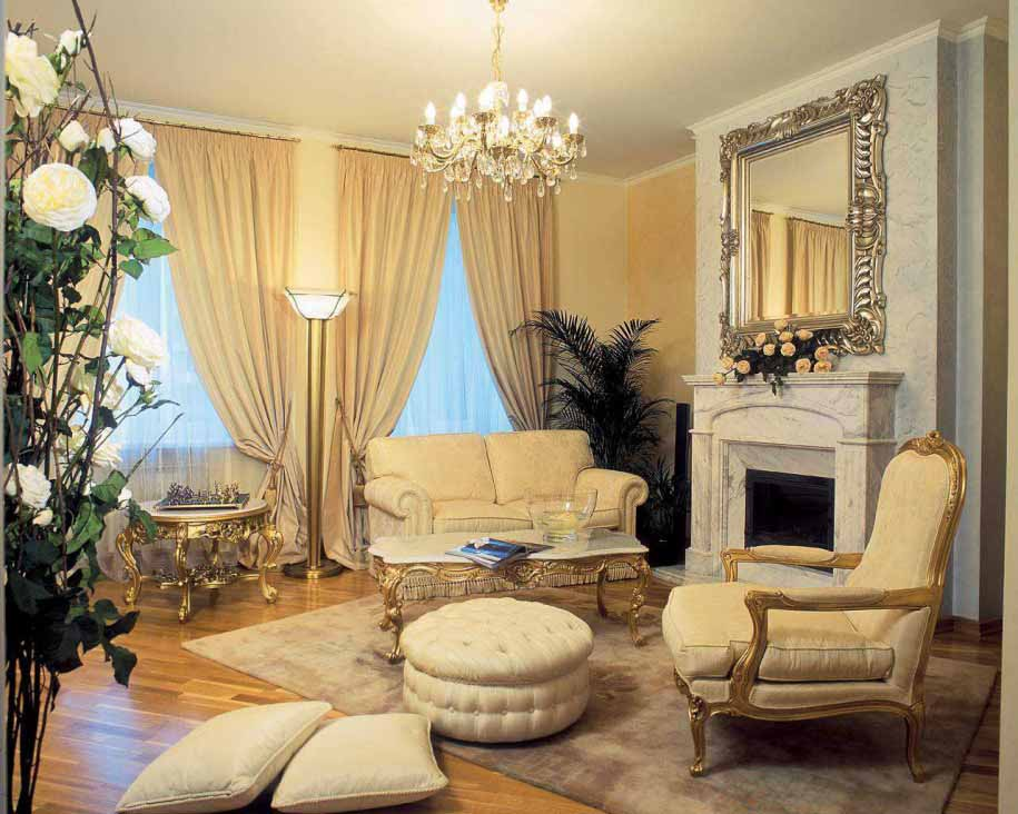 60 Desain Ruang Tamu Klasik Sumber Rumahkecilminimalis