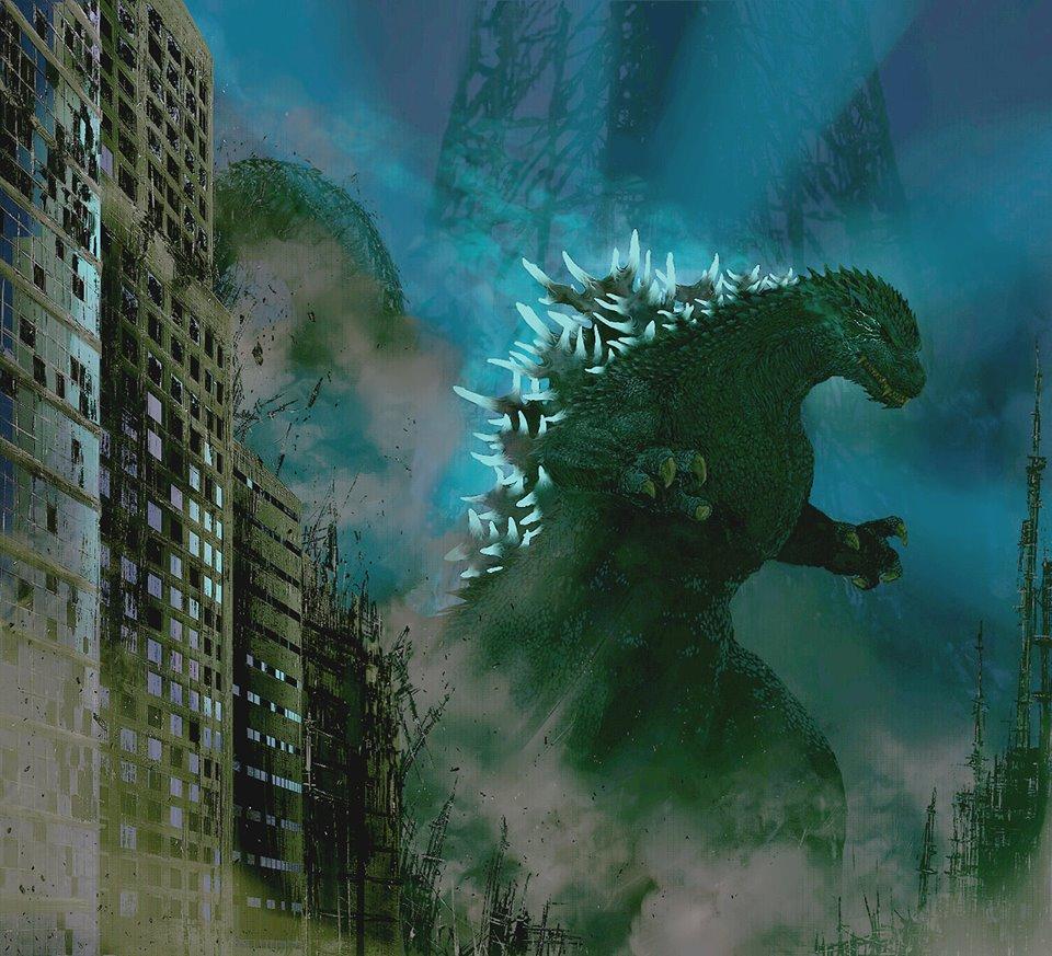 Kaiju Battle: SATURDAY SHOWCASE : Cool Godzilla And Gamera Art