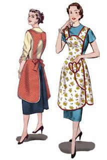 Apron Patterns 1950s
