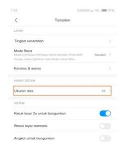 Cara Mengecilkan icon pada Redmi Note 3 Tanpa Root