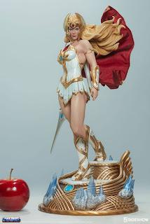 She-ra con la basetta-diorama