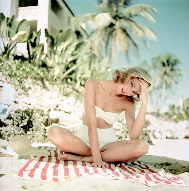 Grace Kelly, 1955, vacaciones, jamaica