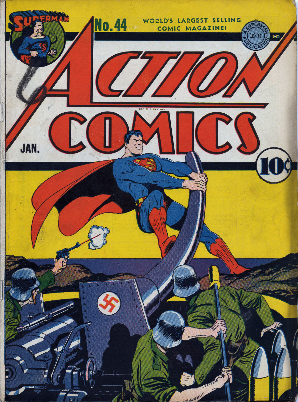Read online Action Comics (1938) comic -  Issue #44 - 2