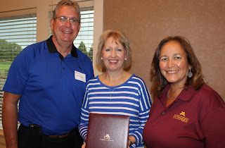 David and Linda Werner with Bev Durgan