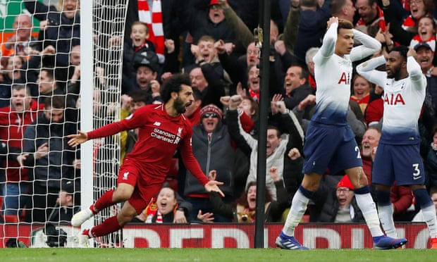 BREAKING NEWS: Mo Salah Leaves It Late To Sink Spurs As Liverpool Regain The Top Of The League