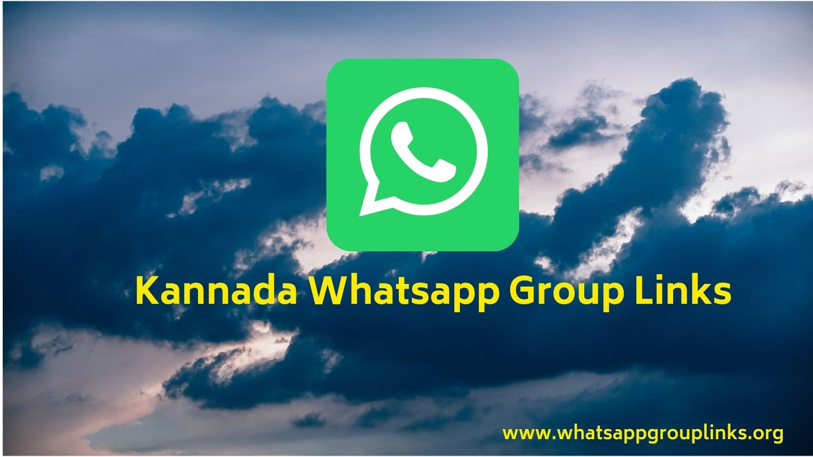 Kannada Whatsapp Group Links - Whatsapp Group Links