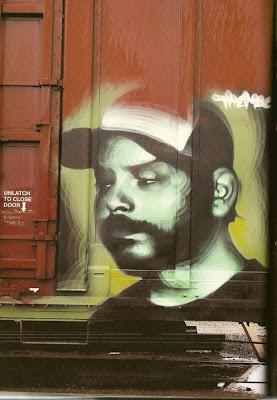 Arte Urbano  hombre co gorra