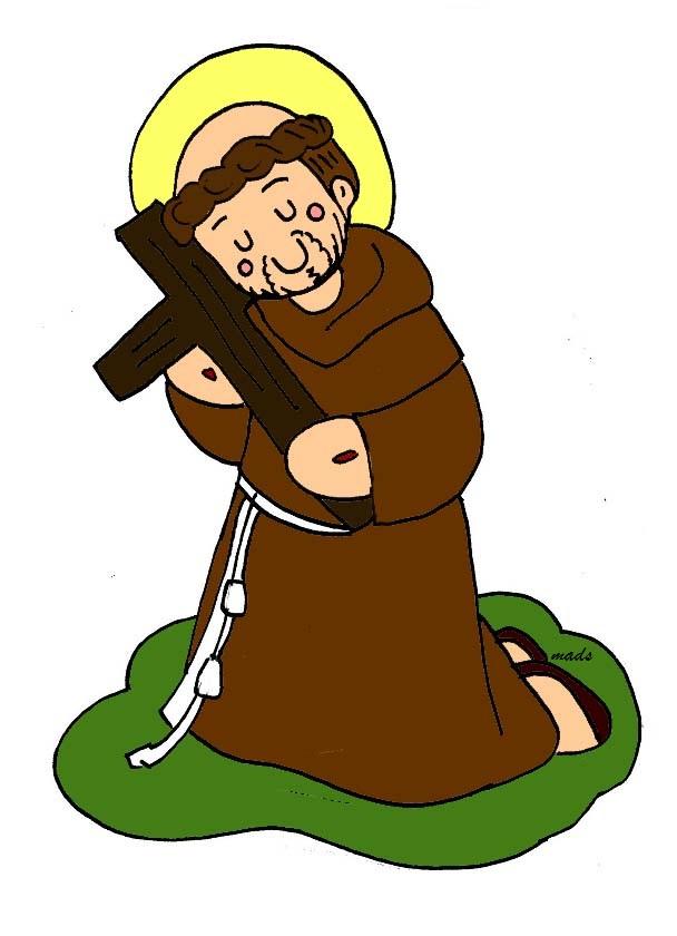 Mis ilustraciones: Oración a Jesús Crucificado de San Francisco de ...