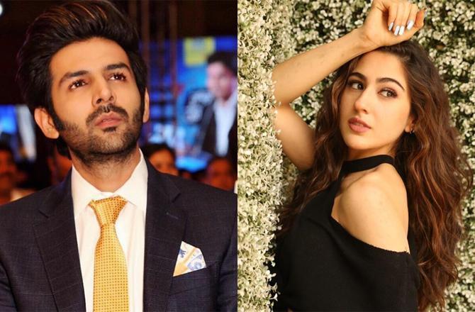 Latest Bollywood News- Sara Ali Khan Kartik Ayan Unseen Pictures