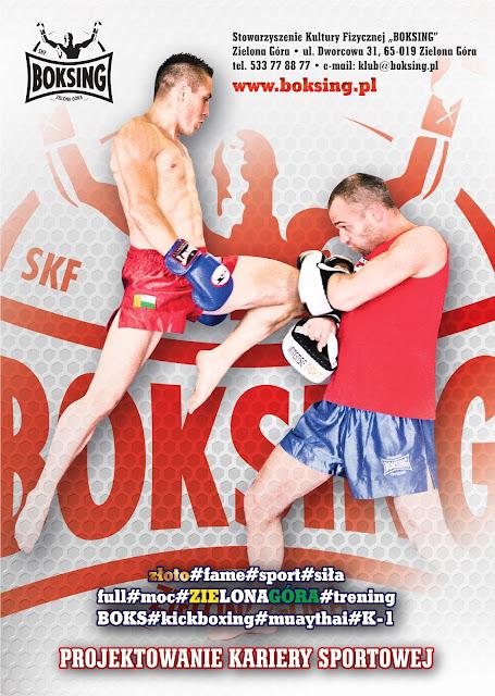sport, trening, nabór, Zielona Góra, kickboxing, muaythai, K-1, boks, sporty walki, Dworcowa 31