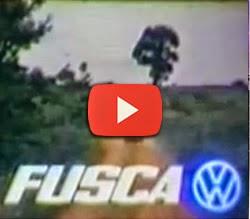 """Propaganda do Fusca nos anos 80 com a música de Luiz Gonzaga - """"Vida do Viajante"""""""