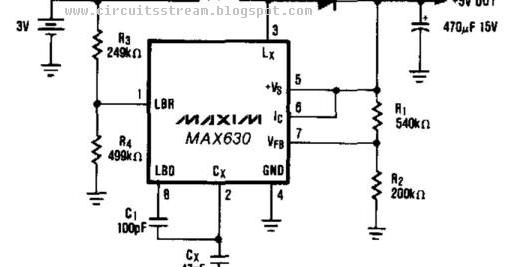 Build a 3V Battery To 5V Dc Dc Converter Circuits Wiring