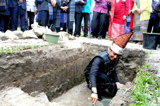 Ketum Tumpuan Damanik Boru Panagolan Indonesia Sesalkan Penghentian Pembangunan Tugu Pendiri Kota Pematangsiantar