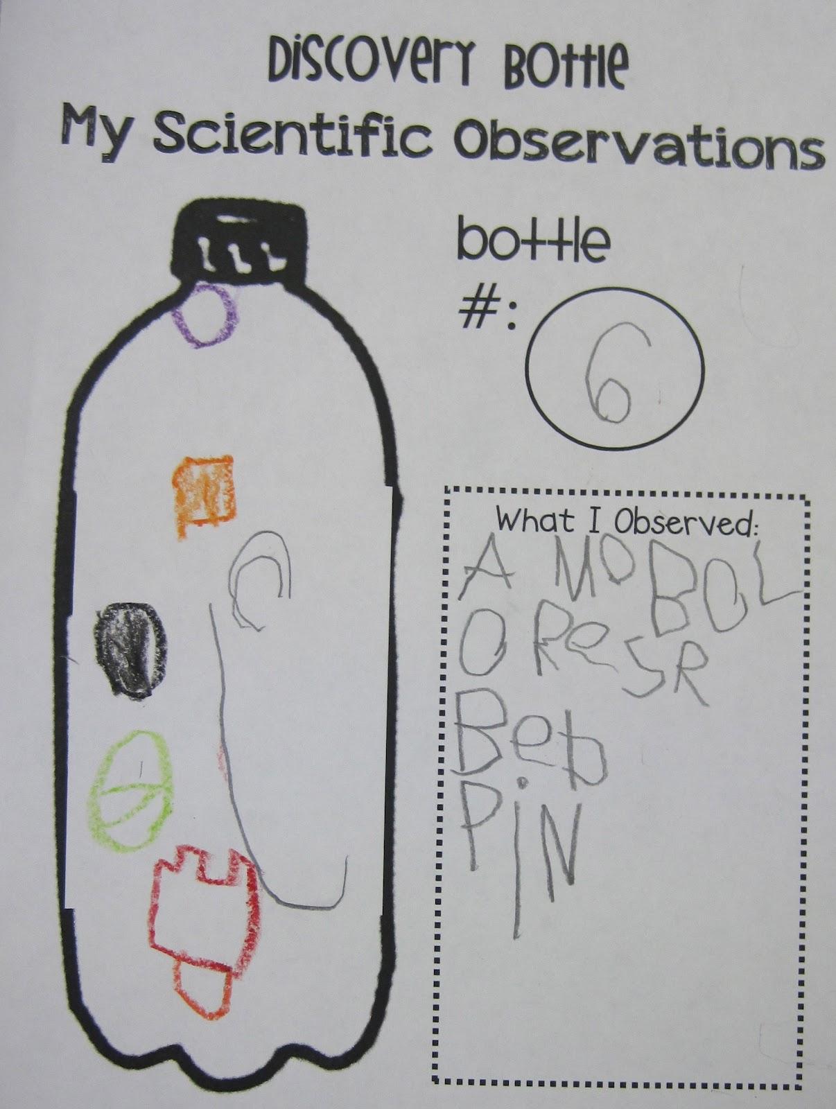 Kindergarten Superkids Discovery Bottles Amp A Freebie
