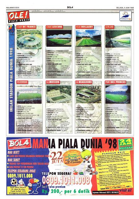 STADION PIALA DUNIA 1998