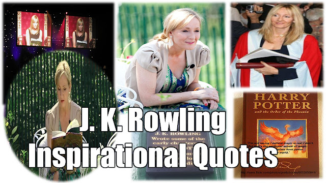14 J.K. Rowling Inspirational Quotes