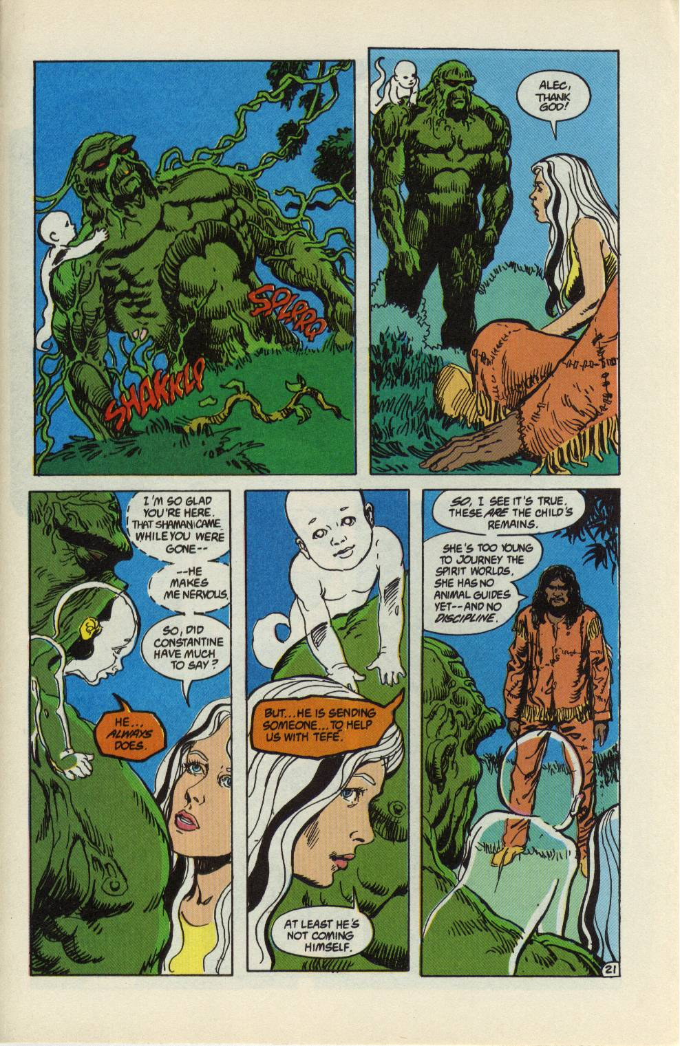 Swamp Thing (1982) Issue #99 #107 - English 22