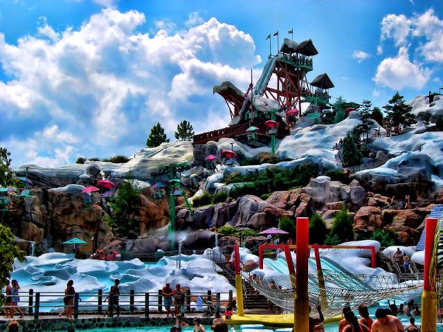Parques Acuáticos en Orlando: Blizzard Beach