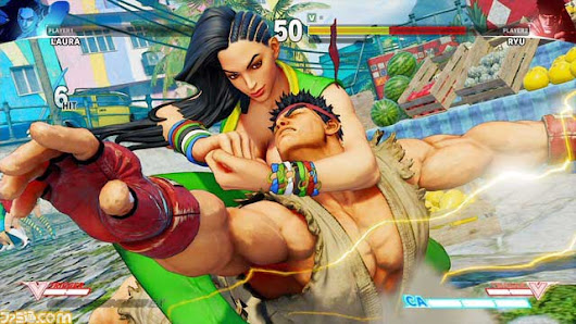 The issue with Laura's skin tone In Street Fighter V |TheZonegamer