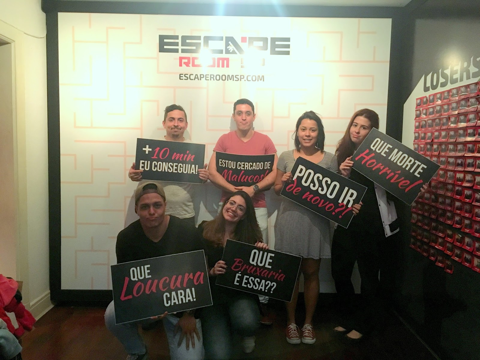 ESCAPE ROOM SP SALA HARBINGER ANA DO DIA ANA SOARES PAPIRO COMUNICAÇÃO