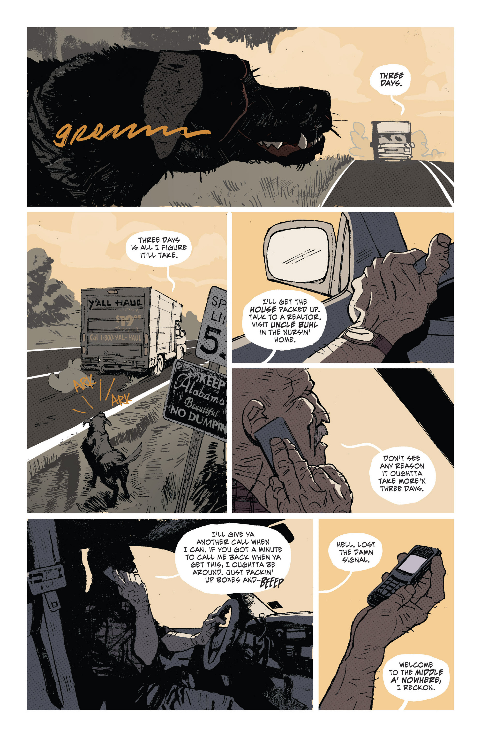 Read online Southern Bastards comic -  Issue #1 - 3