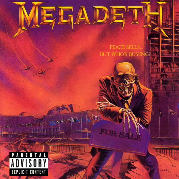 Megadeth - Peace Sells... But Who's Buying? Cover