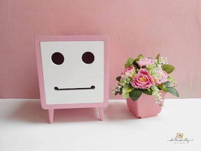 jual aneka tissue box macaron tedd pink ~ hello shabby