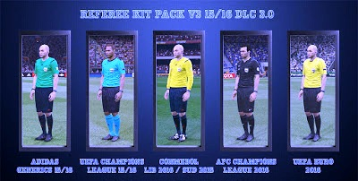 PES 2016 Referee Kitpack V3