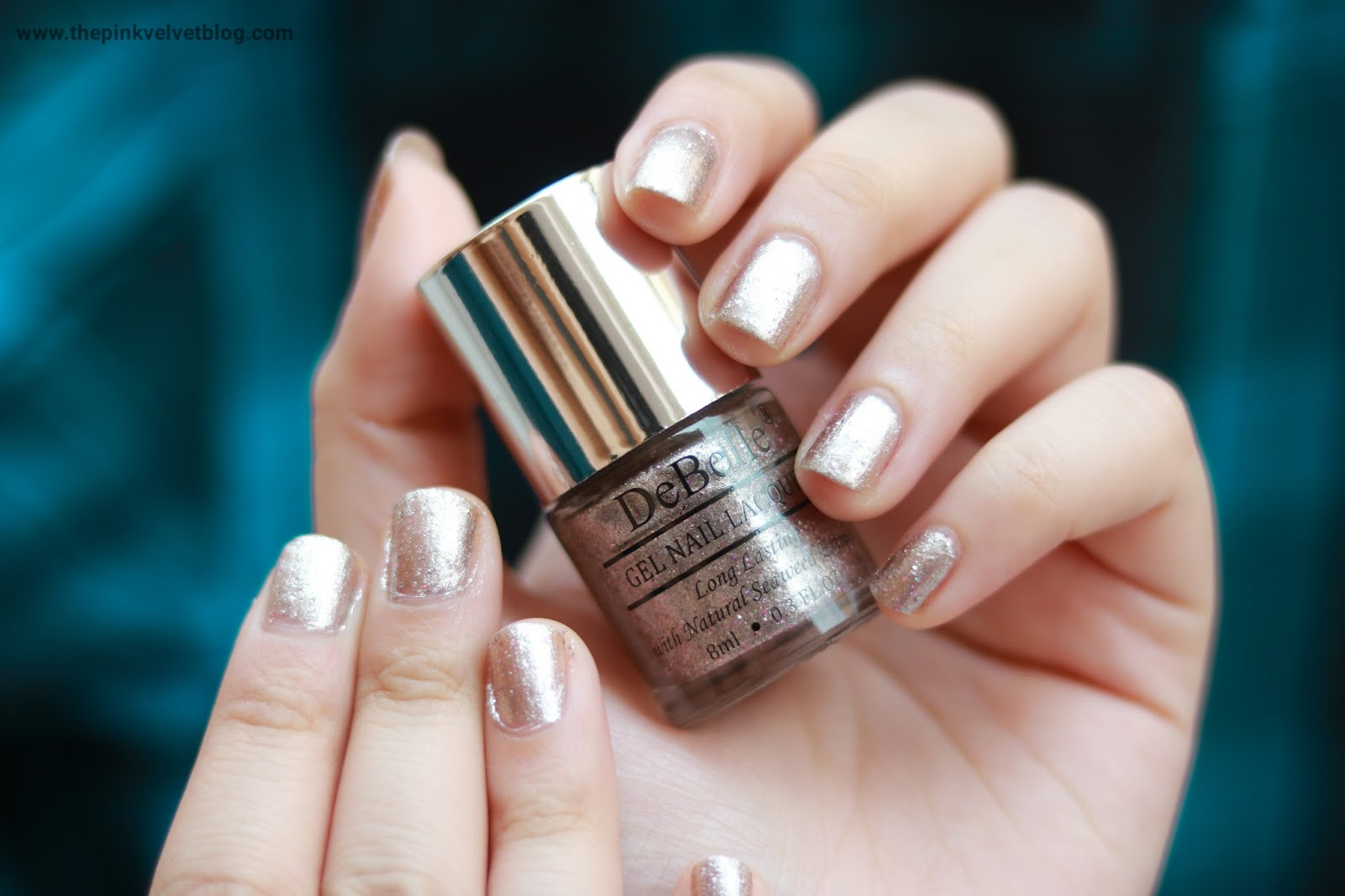 debelle nail paint sparkling dust