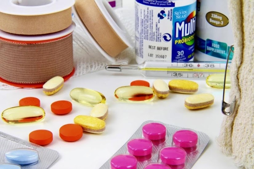 Medicamentos del botiquín