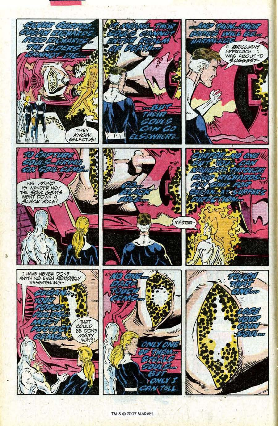 Read online Silver Surfer (1987) comic -  Issue #15 - 10