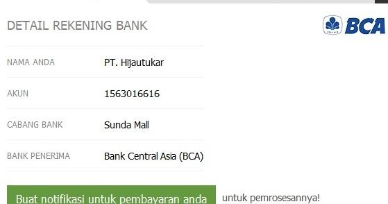 Deposit forex bca