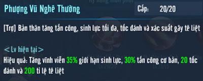 Kỹ năng 80 phái Đào Hoa