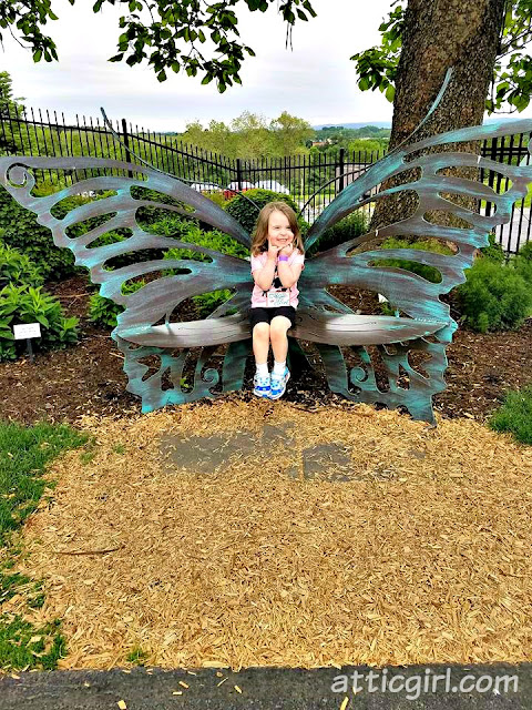 PA attractions, butterfly chair