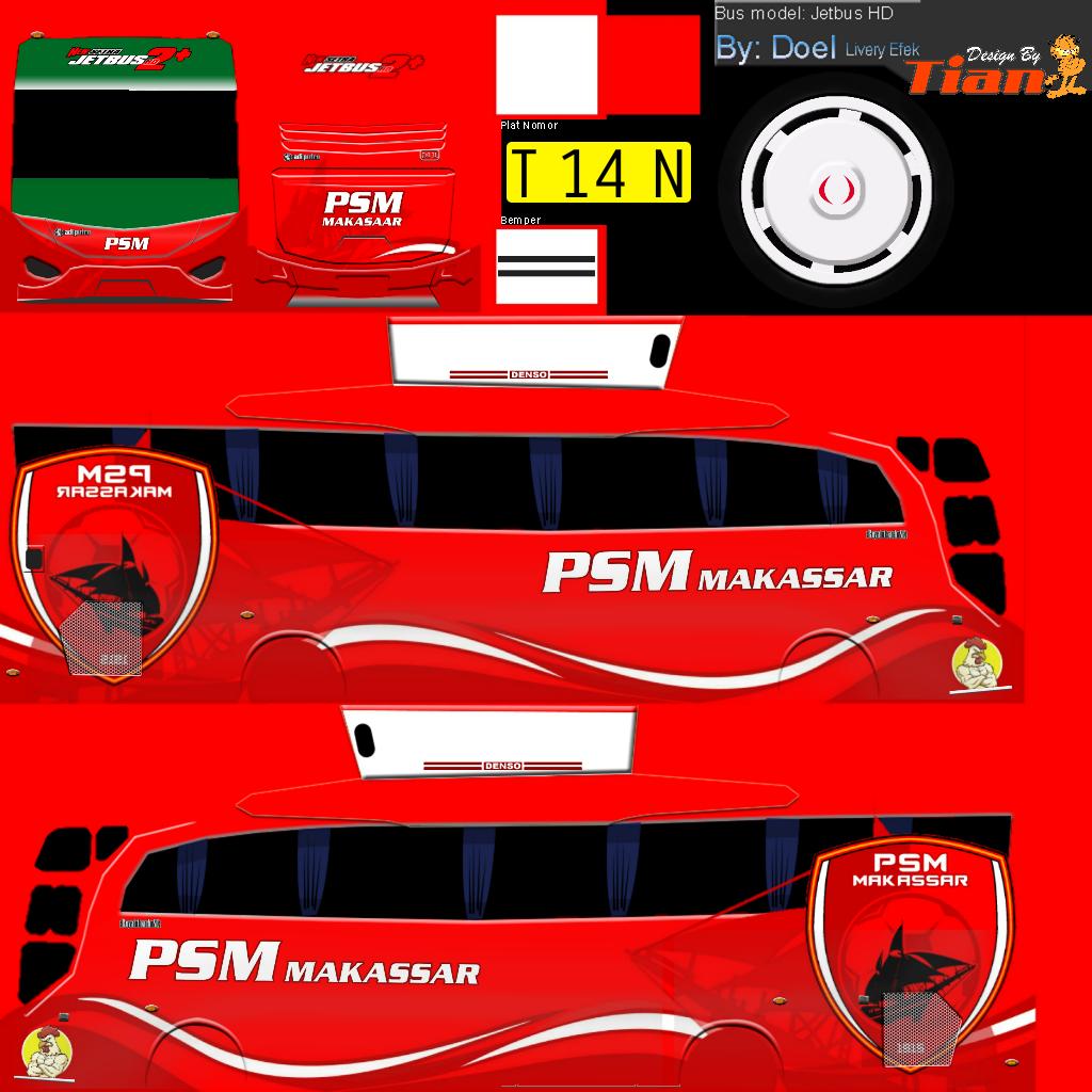Kumpulan Livery Bus Simulator Indonesia V8 Semua Aja