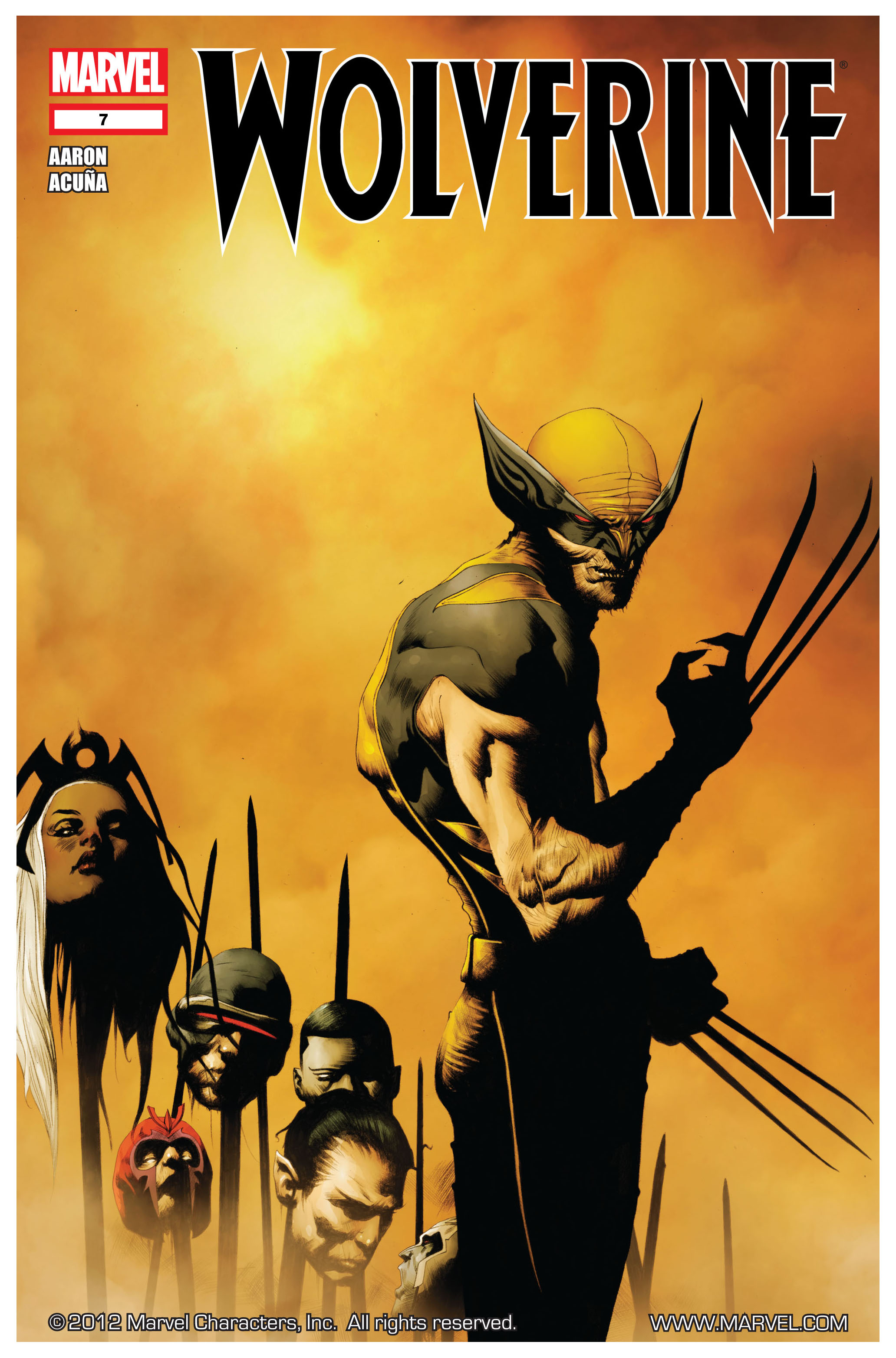 Wolverine (2010) 7 Page 1