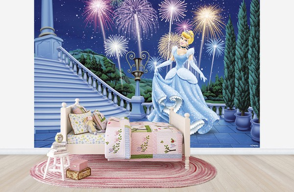 Lasten Tapetti Disney Prinsessa
