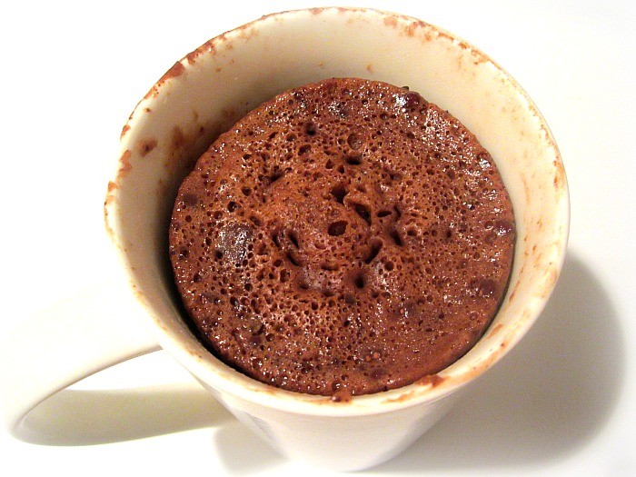 3 Minute Chocolate Cake In A Mug After 10 P M