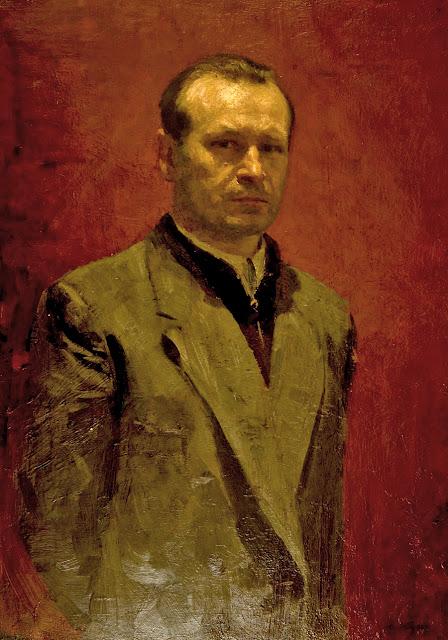 Yuri Kugach, Self Portrait, Portraits of Painters, Fine arts, Portraits of painters blog, Paintings of Yuri Kugach, Painter Yuri