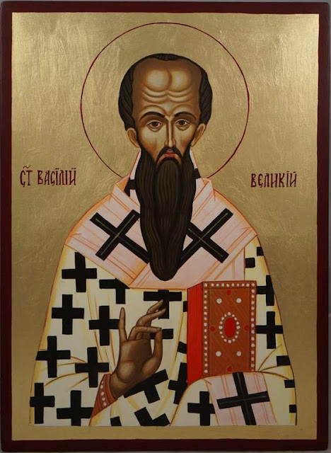 Basil the Great Bishop of Caesarea Saint Vasileios