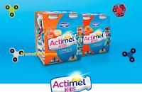 Logo Actimel Kids ti regala un Fidget Spinner Giochi Preziosi