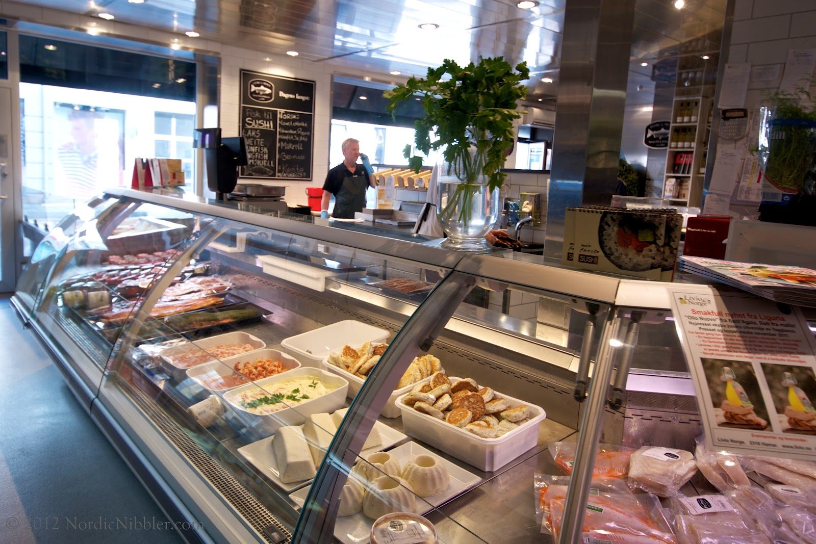 This where you can buy food in oslo where in oslo for Fresh fish market tampa