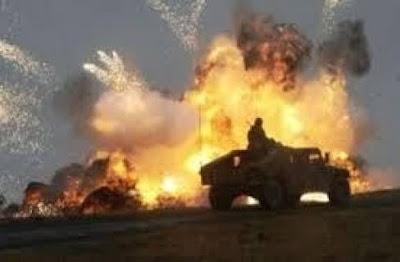 مقتل 10 جنود مصريين بينهم 3 ضباط في تفجير عبوتين بسيناء