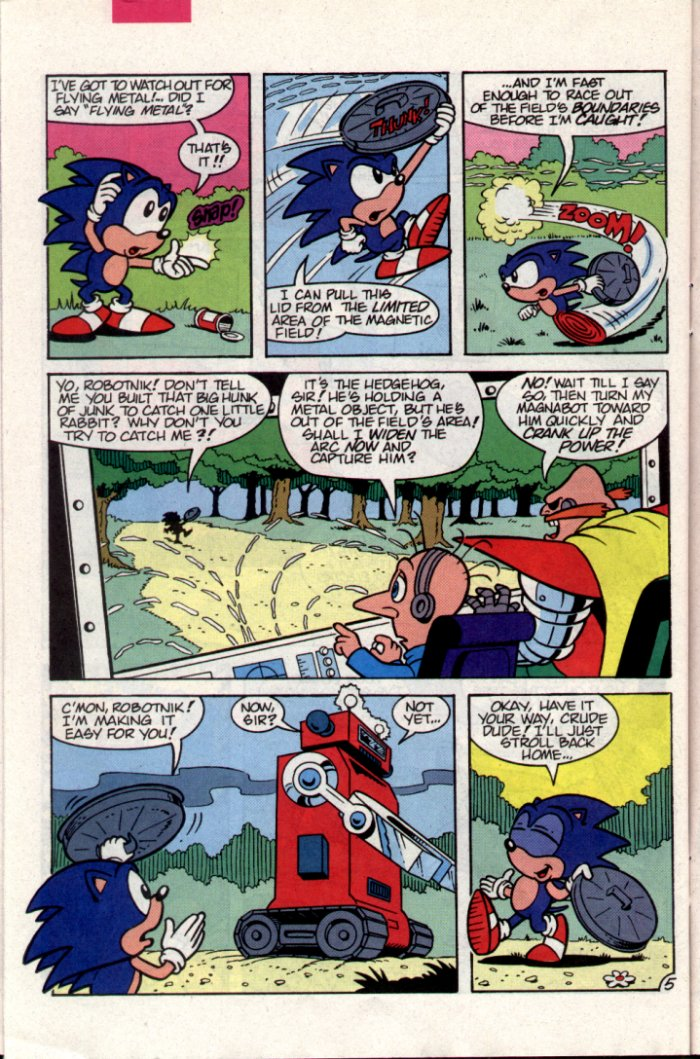 Read online Sonic The Hedgehog comic -  Issue #15 - 24