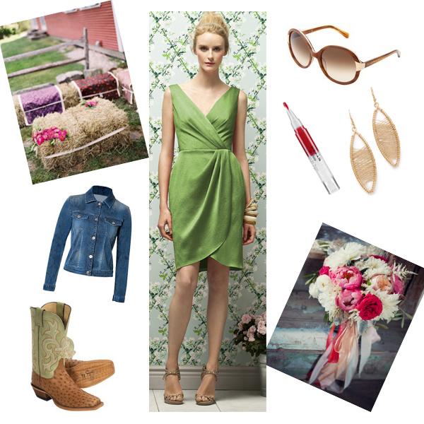 Rustic Fall Wedding Favor Ideas: Chic Short Dress: Rustic Fall Wedding Match Ideas For